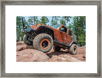 Rock Crawlin Framed Print