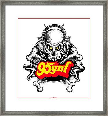 Rock 'n Roll Pirates Framed Print