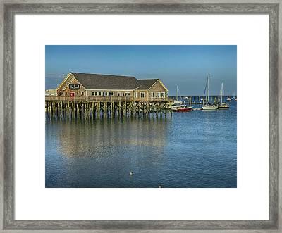 Rockland Harbor  Framed Print