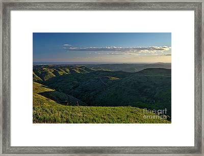 Rolling Mountain - Algarve Framed Print