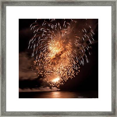 Romancing In The Dark Collection Set 06 Framed Print