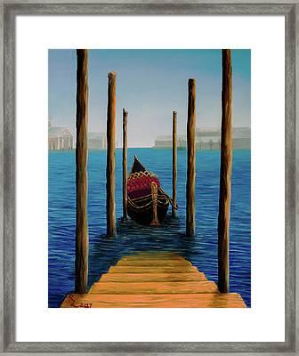 Romantic Solitude Framed Print