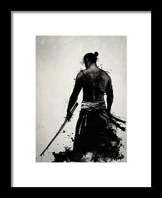 Sword Framed Prints