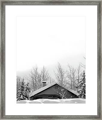 Roof Top Framed Print by Dana Klein