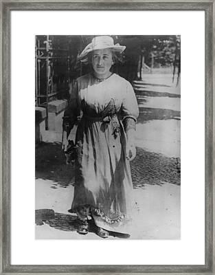 Rosa Luxemburg Framed Print by Henry Guttmann Collection