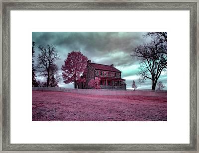 Rose Farm In Infrared Framed Print