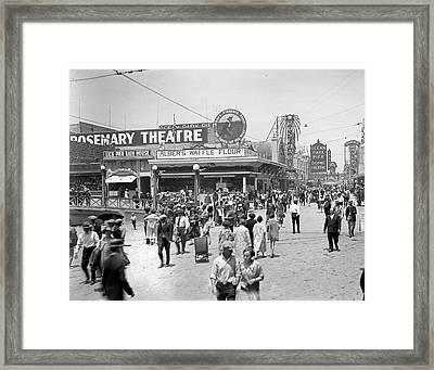 Rosemary Theater Santa Monica Framed Print