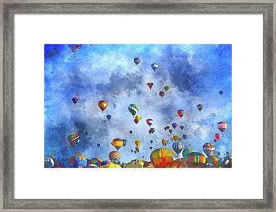 Rough Air Framed Print