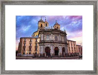 Royal Basilica Of San Francisco El Grande Framed Print