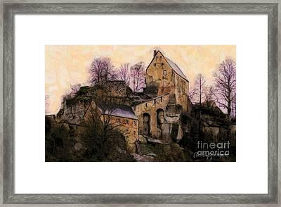 Ruined Castle Framed Print