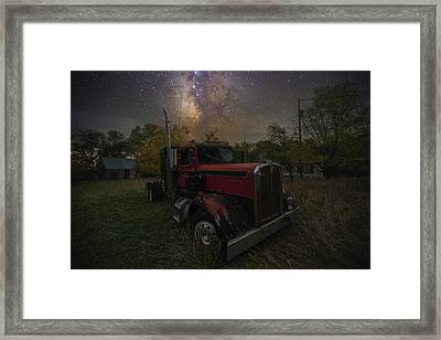 Framed Print featuring the photograph Rusty  by Aaron J Groen