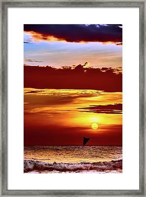 Sail Away... Framed Print