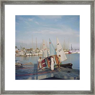 Sailing Dinghy Framed Print