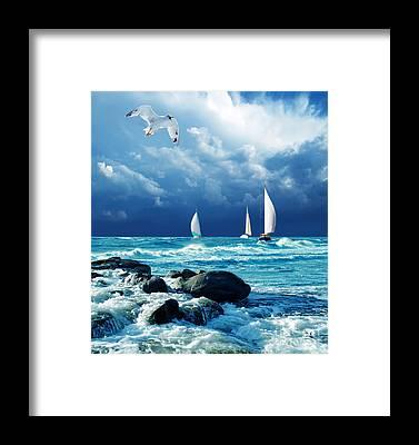 Mast Framed Prints