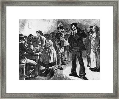 Sailors Club Framed Print by Hulton Archive
