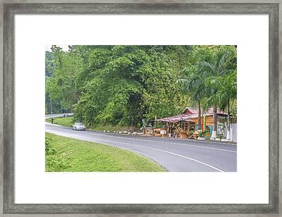 Saint Mary, Jamaica Framed Print