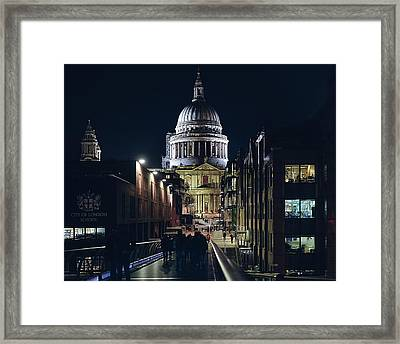 Saint Pauls Cathedral Framed Print