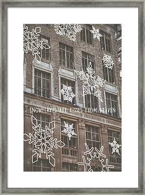 Saks Fifth Ave Quote Framed Print by JAMART Photography