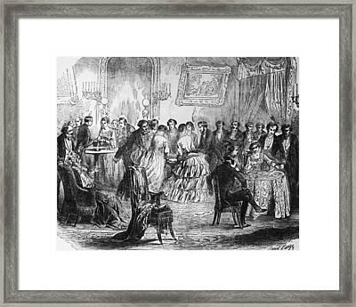 Salon De Paris Framed Print by Hulton Archive