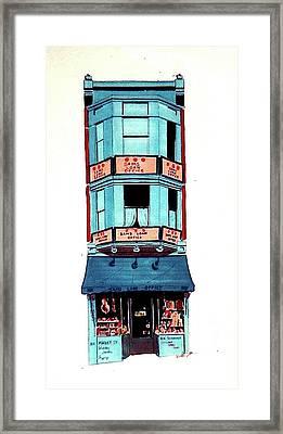 Sam's Framed Print by William Renzulli