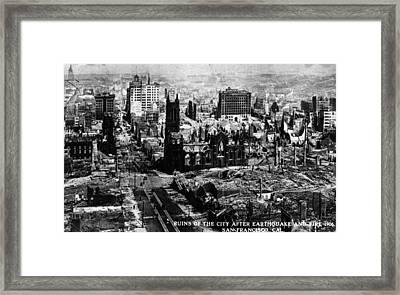 San Francisco Framed Print by Hulton Archive