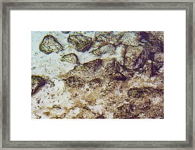 Sand 3 Rivers Framed Print