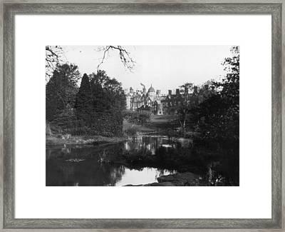 Sandringham House Framed Print by Topical Press Agency