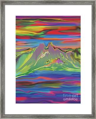 Santa Fe Sunset Framed Print