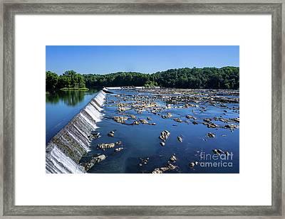 Savannah River Rapids - Augusta Ga 2 Framed Print