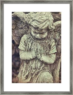 Say A Little Prayer Framed Print