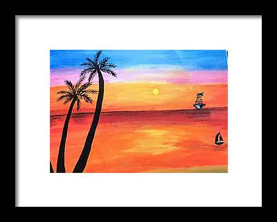 Paint Framed Prints