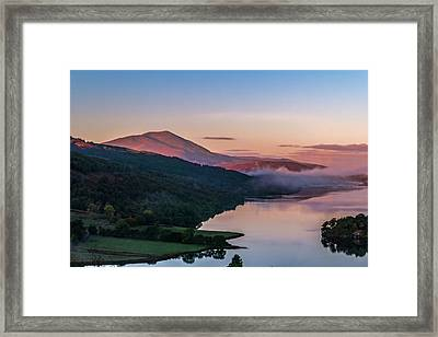 Schiehallion  From Queen's View Framed Print by David Ross