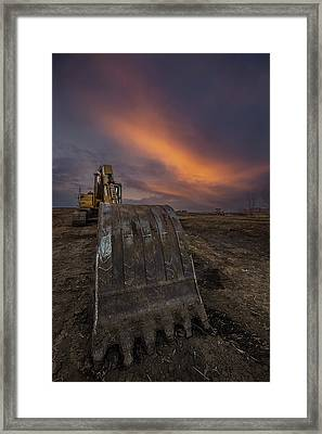 Framed Print featuring the photograph Scoop by Aaron J Groen
