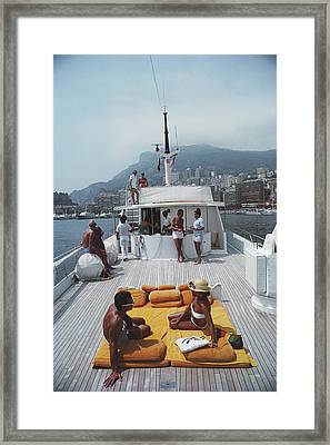 Scottis Yacht Framed Print