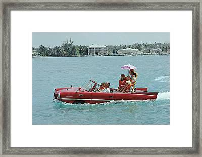 Sea Drive Framed Print