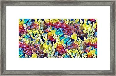 Sea Salad Framed Print