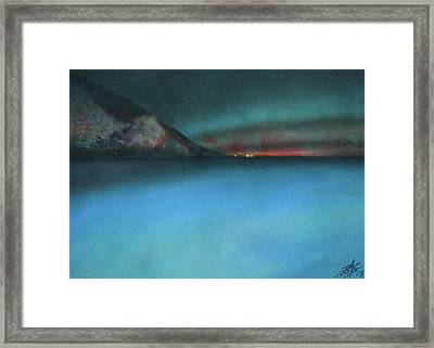 Searching For Flying Fish Framed Print by Robin Street-Morris