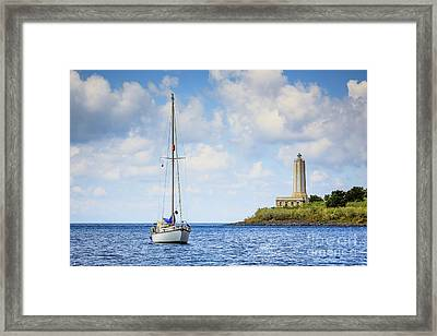 Seascapes 4 Framed Print