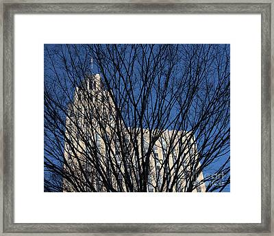 Framed Print featuring the photograph Seasonal View C by Patrick M Lynch