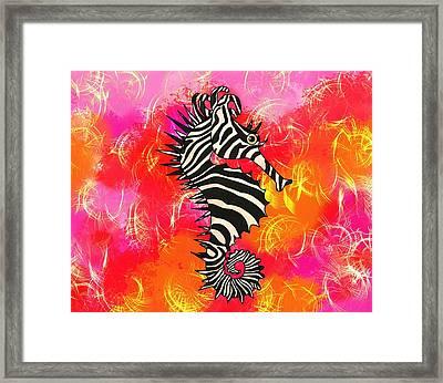 Seazebra Digital10 Framed Print