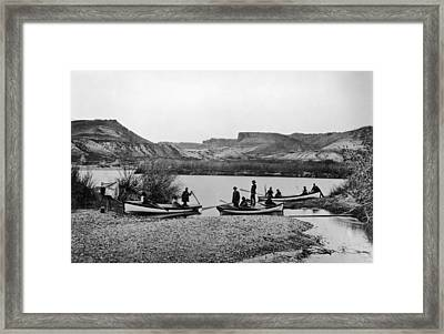 Second Colorado Expedition Framed Print by Getty Images