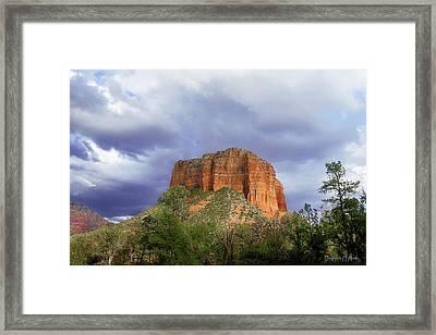 Devil's Mountain Framed Print