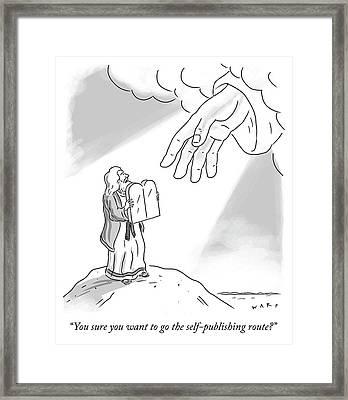 Self Publishing Framed Print