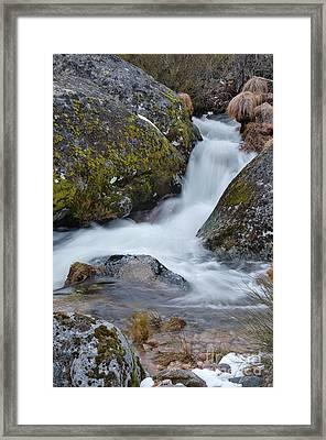 Serra Da Estrela Waterfalls. Portugal Framed Print