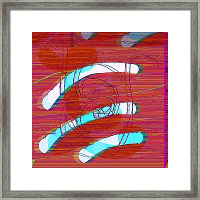 Framed Print featuring the digital art Set Me Free by Bee-Bee Deigner
