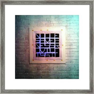 Seven - Wall Framed Print