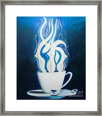 Sexy Java Framed Print