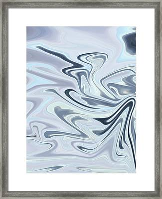 Shades Of Gray Framed Print