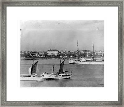 Shanghai Framed Print by Hulton Archive