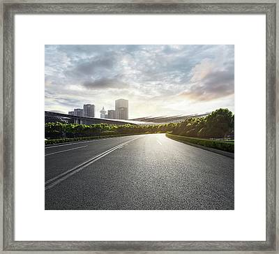Shanghai Pudong Framed Print by Zyxeos30